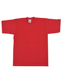 PRO CLUB HEAVY WEIGHT S/S TEE-RED【PRC1X-HWTST-RED-RED】