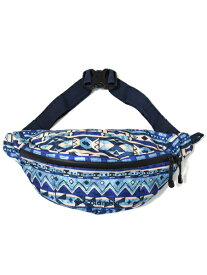 COLUMBIA PRICE STREAM HIP BAG-NIGHT TIDE PATTERN【PU8235-453-BLUE】