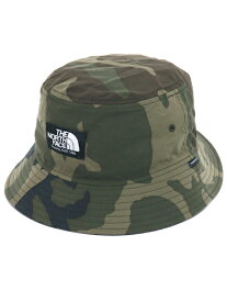 THE NORTH FACE NOVELTY CAMP SIDE HAT【NN01818-WD-WOODLAND CAMO】