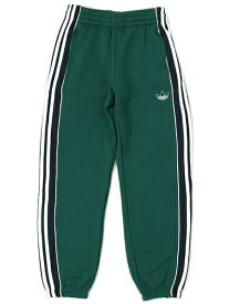 ADIDAS 3 SRIPES PANEL PANTS-COLLEGEATE GREEN【GDG57-EJ7112-GREEN】