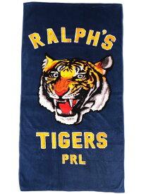 POLO RALPH LAUREN RALPH'S TIGER BEACH TOWEL【611723936001-B-NAVY】