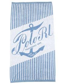 POLO RALPH LAUREN ANCHOR BEACH TOWEL【611741212002-B-BLUE】