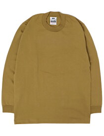 PRO CLUB HEAVY WEIGHT L/S TEE-MUSTARD【PRC1X-HWTLT-MST-TAN】