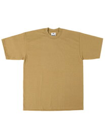 PRO CLUB HEAVY WEIGHT S/S TEE-MUSTARD【PRC1X-HWTST-MST-TAN】