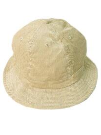 NEW HATTAN CORDUROY BELL HAT【NH-1546SD-SAND】