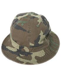 NEW HATTAN COTTON BELL HAT【NH-1545WL-WOODLAND CAMO】