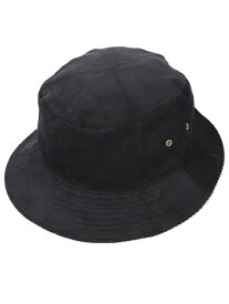 NEW HATTAN CORDUROY BUCKET HAT【NH-1570BK-BLACK】