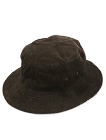 NEW HATTAN CORDUROY BUCKET HAT【NH-1570DB-DARK BROWN】