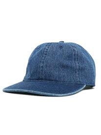 NEW HATTAN DENIM FLAT VISOR CAP【NH-1170DB-DARK BLUE】