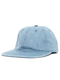 NEW HATTAN DENIM FLAT VISOR CAP【NH-1170LB-LIGHT BLUE】