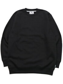 PRO CLUB HW 13oz PULLOVER CREW SWEAT【PRC-141-BLK-BLACK】