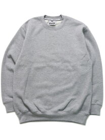 PRO CLUB HW 13oz PULLOVER CREW SWEAT【PRC-141-HGY-GREY】