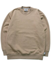 PRO CLUB HW 13oz PULLOVER CREW SWEAT【PRC-141-KHK-KHAKI】