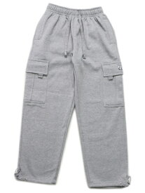 PRO CLUB HW FLEECE CARGO PANTS【PRC-162-HGY-GREY】