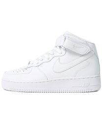 【送料無料】NIKE AIR FORCE 1 MID 07 WHITE/WHITE【CW2289-111-WHITE】