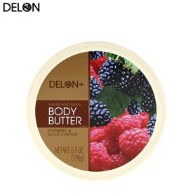 DELON デロン ボディバター ラズベリー&カシス Body Butter RASPBERRY&BLACK CURRANT 200ml