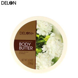 DELON デロン ボディバター ホワイトピオニー Body Butter WHITE PEONY 200ml