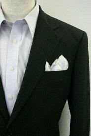◆【G-8】ポケットチーフ 挿すだけ 台紙 フィックスポン クラッシュ【麻・リネン】【ベージュライン】【無地】fixpon 差し込み式 送別 卒業式 入学式 入社式 結婚式 ブライダル パーティー ギフト 冠婚葬祭