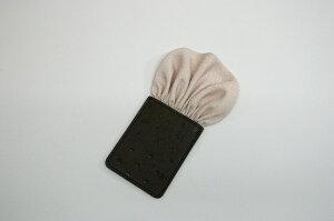 フィックスポンパッフド1【薄ピンク】【和風・ちりめん】fixponポケットチーフ