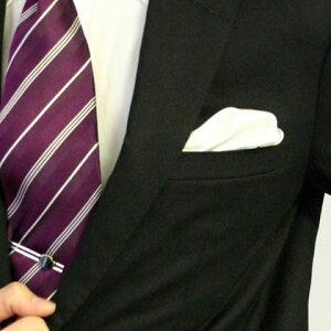 フィックスポンパッフド2【ホワイト】fixponポケットチーフ