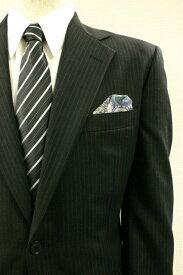 ◆【E-5】ポケットチーフ 挿すだけ 台紙 フィックスポン パッフド2【シルク】【淡いパープル】【ペイズリー柄】fixpon 差し込み式 送別 卒業式 入学式 入社式 結婚式 ブライダル パーティー ギフト 冠婚葬祭
