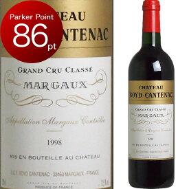 [1998] シャトー・ボイド・カントナック [Chateau Boyd Cantenac] フランス ボルドー マルゴー 赤ワイン ワイン