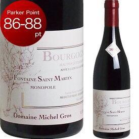 [2016] ブルゴーニュ オート・コート・ド・ニュイ フォンテーヌ・サン・マルタン ルージュ ミシェル・グロ [Bourgogne Hautes Cotes de Nuits Fontaine Saint Martin Rouge Domaine Michel Gros] (フランス ブルゴーニュ) 赤ワイン