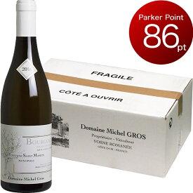 <12本入りケース販売> [2016] ブルゴーニュ オート・コート・ド・ニュイ フォンテーヌ・サン・マルタン ブラン ミシェル・グロ [Bourgogne Hautes Cotes de Nuits Fontaine Saint Martin Blanc Domaine Michel Gros] (フランス ブルゴーニュ) 白ワイン
