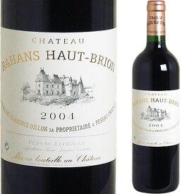 [2004] バアン=オーブリオン [Chateau Bahans Haut Brion] ※ラベル不良