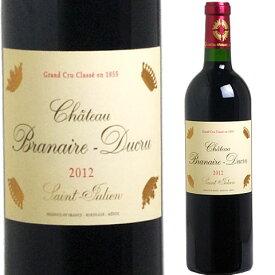 [2012] シャトー・ブラネール・デュクリュ [Chateau Branaire Ducru] ( フランス ボルドー サンジュリアン ) ワイン 赤ワイン
