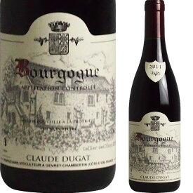 [2014] ブルゴーニュ ルージュ ドメーヌ・クロード・デュガ [Bourgogne Rouge Claude Dugat]