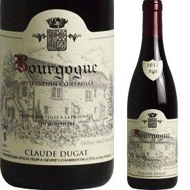 [2017] ブルゴーニュ ルージュ ドメーヌ・クロード・デュガ [Bourgogne Rouge Claude Dugat]