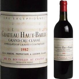 <No.1> [1982] シャトー・オー・バイイ [Chateau Haut Bailly] AOCペサック・レオニャン 【L】 ( フランス ボルドー ) ワイン 赤ワイン オールドヴィンテージ