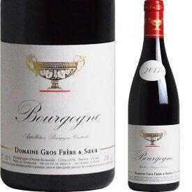 [2017] ブルゴーニュ・ルージュ ドメーヌ・グロ・フレール・エ・スール [Bourgogne Rouge Domaine Gros Frere et Soeur]