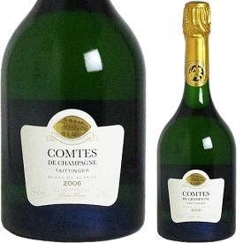 <BOXなし> [2006] テタンジェ コント・ド・シャンパーニュ ブラン・ド・ブラン 並行品[Taittinger Comtes de Champagne Blanc de Blanc]