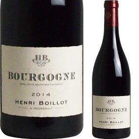 [2014] ブルゴーニュ・ルージュ アンリ・ボワイヨ [Bourgogne Rouge Domaine Henri Boillot]