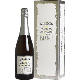 <BOX入り> ルイ・ロデレール フィリップ・スタルク シャンパーニュ ブリュット・ナチュール [2012] 並行品 [Louis Roederer et Phirippe Starck Champagne Brut Nature Blanc] フランス シャンパン