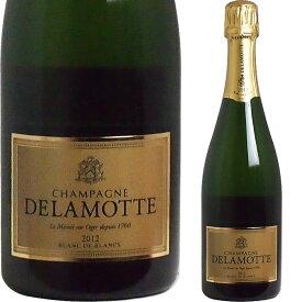<BOXなし> [2012] シャンパーニュ ドラモット ブラン・ド・ブラン ヴィンテージ 並行品[Champagne Delamotte Blanc de Blanc Brut]