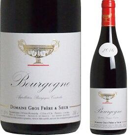 [2016] ブルゴーニュ・ルージュ ドメーヌ・グロ・フレール・エ・スール [Bourgogne Rouge Domaine Gros Frere et Soeur]