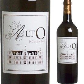 [2015] アルト・ド・カントナック・ブラウン [Alto de Cantenac Brown] ( フランス ボルドー ) ワイン 白ワイン