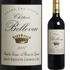 [2007] シャトー・ベルヴュー [Chateau Bellevue] ( フランス ボルドー サンテミリオン ) ワイン 赤ワイン