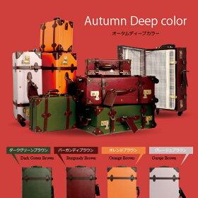 トランクケース送料無料小型キャリーケーススーツケースPVC加工かわいいキュート旅行かばんSサイズTRUNK修学旅行旅行トランク