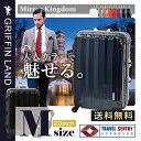 【送料無料・一年保証付】 GRIFFIN LAND MirrorKingdom スーツケース M(22)サイズ キャリーケース M(22) サイズ【TSAロック...