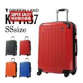 GRIFFINLANDファスナータイプスーツケースSS機内持込可能サイズKY-FK37