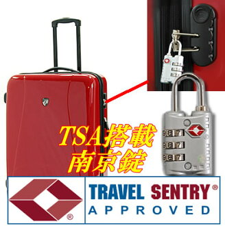 (collect on delivery impossibility) a padlock mounted with TSA lock for suitcases