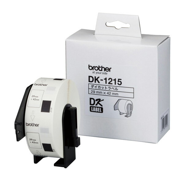 brother(ブラザー工業) DKプレカットラベル(感熱紙) DK-1215(食品表示用/検体ラベル)【国内正規品・国内保証】