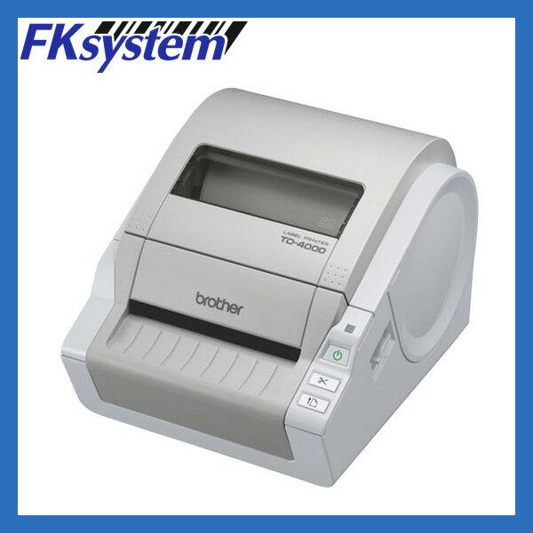 【あす楽対応】brother(ブラザー工業) サーマルラベルプリンター TD-4000 (USB接続) 【国内正規品・国内保証】 【smtb-TK】