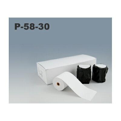 三栄電機 BL2-58専用ロール紙 P-58-30