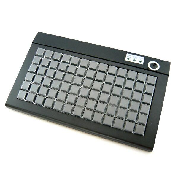 【あす楽対応】POSプログラマブルキーボード PKB-078U (USB接続/カラーブラック) 【smtb-TK】