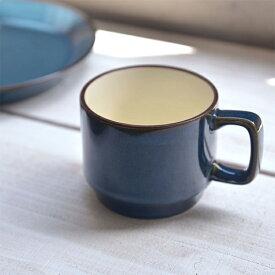 北欧ブルー スタッキング マグカップ 11.5x8.5cm [日本製/美濃焼/洋食器] 生活雑貨 キッチン 食器 マグカップ 日本 器 美濃焼 北欧 ブルー 東海焼 TOKAI-YAKI 東海焼き 現代風アレンジ お皿